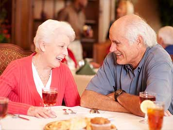 Independent Living Dining, Independent Living, Retirement Community